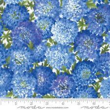 Moda Summer Breeze IV 33281 13 Royal Cotton Fabric FREE US SHIPPING