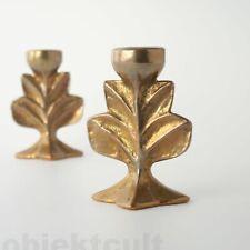 1(2) Harjes Metallkunst Bronze Tischleuchter Kerzenleuchter Kerzenständer Candle
