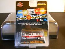 "Racing Champions - 1/64 - Ford Dually - ""Fire Rescue U.S.A."" - (Dallas TX.) VHTF"