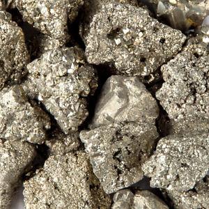 2 lbs Iron Pyrite Fools Gold Gemstone Crystals Natural Chispa Bulk Gem Specimens