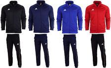 adidas Training Jacket Core 18 PES Men Zip Pockets M Medium Red Cv3565