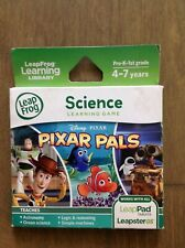Pixar Pals Leap Frog Pad LeapPad 2 Leapster Explorer Science Game 4-7 Years