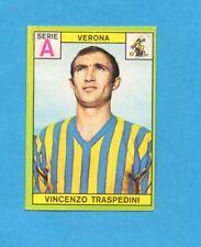 PANINI CALCIATORI 1968/69-Figurina - TRASPEDINI - VERONA -Recuperata