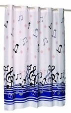 Carnation Home Fashions EZ On No Hooks Needed! Fabric Shower Curtain, 70 by 75-I