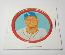 1963 Salada Junket Baseball Coin Pin #1 Don Drysdale Los Angeles Dodgers v8