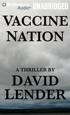 Vaccine Nation by David Lender (2012, CD, Unabridged) Free Shipping!