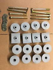 """Early Bronco body mount hardware kit ( For 2"""" Body Lifts)32 pieces 66-77 Ford"""