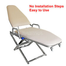 New Portable Folding Dental Chair Cuspidor Tray Luxury/Non installation Type