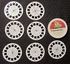 1969 VIEW-MASTER Television Cartoon Favorites 6 Reels Snoopy / Mickey / Winnie