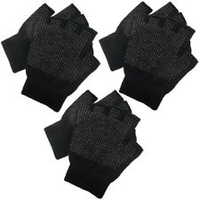 Mens Womens Unisex Adult FINGERLESS Magic Glove Stretch Grip Gripper Work Winter