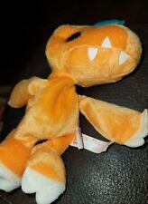 AGUMON Digimon Digi Pals Plush  Vintage Toy 1997 Bandai NEW! Comes W Tag! Rare!