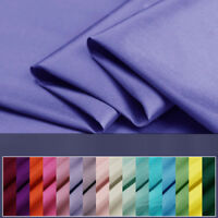 "Bridal 100% DUPIONI SILK FABRIC Quilt Sew Drapery 24 Color Width 44"" Craft Cloth"