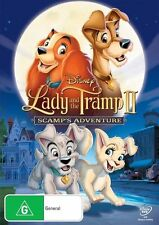 Lady And The Tramp II - Scamp's Adventure (DVD, 2012)