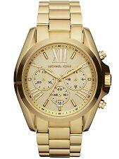 Michael Kors Bradshaw Chronograph Womens Watch MK5605 Champagne Dial