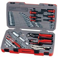 TENG TOOL 48 piece 3/8 DRIVE TOOL SET RATCHET SOCKETS PLIERS SPANNERS