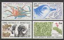 FSAT/TAAF 1989 Crab/Birds/Sheep/Plant 4v set (n23006)