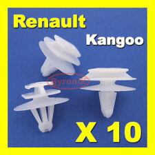 RENAULT KANGOO DOOR CLIPS MOULDING TRIM STRIP RUBSTRIP EXTERIOR