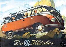 1951 Volkswagen DER KLEINBUS, VW Bus, Refrigerator Magnet,40 MIL