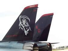 VF-101 GRIM REAPERS PATCH FG1 F2H1 F4D F3H F4 F14 US NAVY USS NAS OCEANA VFA F35