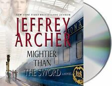 Jeffrey Archer MIGHTIER THAN THE SWORD Unabridged 11 CDs *NEW* FAST Ship!
