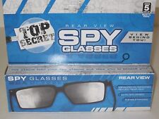 Top Secret Spy Glasses - Magic Trick, Rear-View, Mirror Glasses, Joke/Gag/Prank