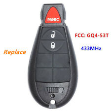 Replace Remote Key Fob 3B 433MHz for RAM 1500 2500 3500 2013-2017 FCC ID:GQ4-53T