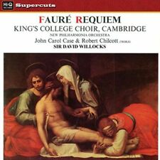 GABRIEL FAURE' - REQUIEM - DAVID WILLCOCKS/CHOIR O NEW VINYL RECORD