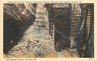 West Rutland Vermont~100 Year Old Tunnel~Underground Marble Quarries~Ladders~'41