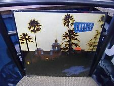 The Eagles Hotel California LP 1976 Asylum VG+ IN Shrink w/ Song Sticker +Poster