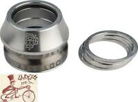 "ODYSSEY CONICAL INTEGRATED 1-1/8"" POLISHED BMX BICYCLE HEADSET"
