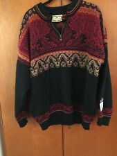 DALE OF NORWAY _ MEN'S KNITWEAR NORWEGIAN WOOL WARM JUMPER NAGANO 1998 _ XL