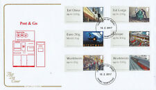 (43085) GB Cotswold FDC Post and Go Mail by Rail Hemel Hempstead 2017