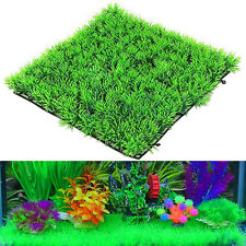 Artificial Water Aquatic Green Grass Plant Lawn Aquarium Fish Tank Landscape GW