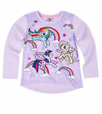 c8816d25954 Girls Kids Children My Little Pony Long Sleeve Tshirt Top Age 3-10 Xmas 2017