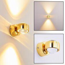 Applique LED Up/Down Lampe murale dorée Design Éclairage de couloir RIO 134688