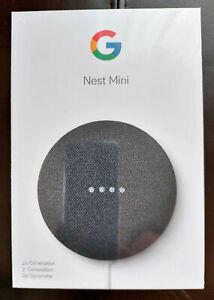 Google Nest Mini (2nd Generation) Smart Lautsprecher - Carbon (GA00781-EU)