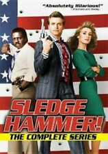 Sledge Hammer Complete David Rasche TV Series Seasons 1 & 2 5-disc DVD Set