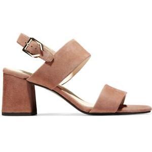 Cole Haan Avani City Women's Suede Slingback Heel Sandals