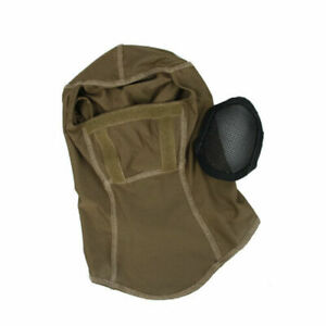 Tactical Metal Mesh Balaclava Head cover Full Face Mask For Airsoft TMC3267- CB