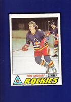Ron Andruff RC 1977-78 O-PEE-CHEE OPC Hockey #288 (NM) Colorado Rockies