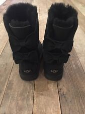 NWB Ugg Australia Women's Meilani Bow Boots Size 7 Black