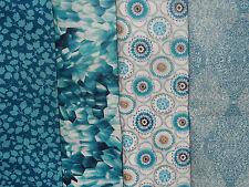 LIBERTY PRINTS cotton tana lawn fabric bundle x4 pieces CRAFT QUILTING (pack AX)