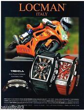 PUBLICITE ADVERTISING 095  2007  LOCMAN montres TREMILA