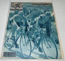 BUT & CLUB MIROIR SPORTS N°580 1956 TOUR FRANCE DARRIGADE ADRIAENSSENS HUOT GAUL