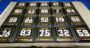 Pittsburgh Steelers Framed 8x10 Jersey Photo Bettis Swann Blount Ward Ham Miller