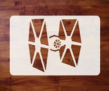 Mylar Star Wars Stencil, TIE Fighter, Paint, Airbrush FREE SHIPPING