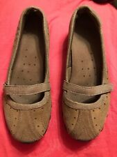 Women's Skechers Brown Slip On Shoes Size 10