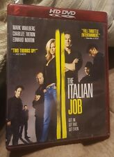 The Italian Job (HD-DVD, 2006) Mark Wahlberg Charlize Theron Edward Norton LN