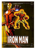 2015 Upper Deck Iron Man Comic Con Exclusive Embedded Patch Card Marvel Comics