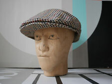 STETSON KENT Schiebermütze 57 M 90er Hut Made in Germany TRUE VINTAGE flat cap